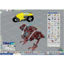 Программа для 3D моделирования trueSpace