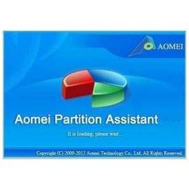 ������� ��� ������ � ������� Aomei Partition Assistant Home
