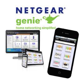 ������ � ����� NETGEAR Genie