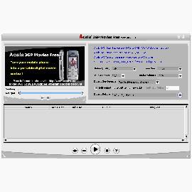 Конвертор видео Acala 3GP Movies Free