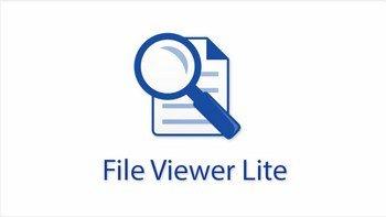 Скачать бесплатно File Viewer Lite 1.3.3