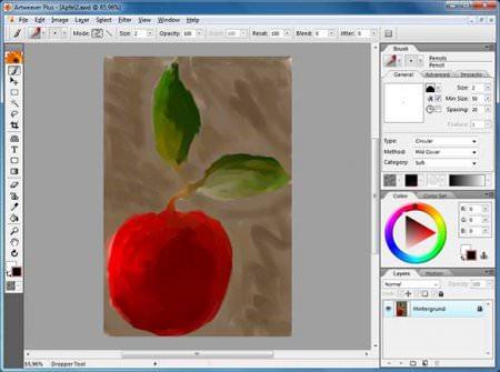 Графический редактор Artweaver free