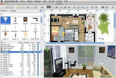 Проектирование интерьера Sweet Home 3D
