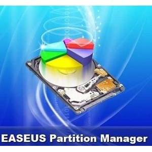 Работа с жестким диском EASEUS Partition Master Home Edition