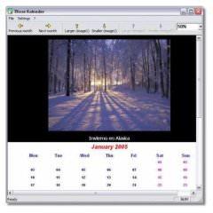 Создание календарей TKexe Kalender