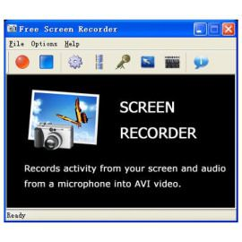 Захват видео Free Screen Recorder