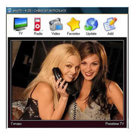 Онлайн-телевидение AnyTV Free