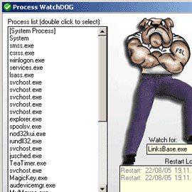 Утилита для мониторинга работы системы Watch Dog