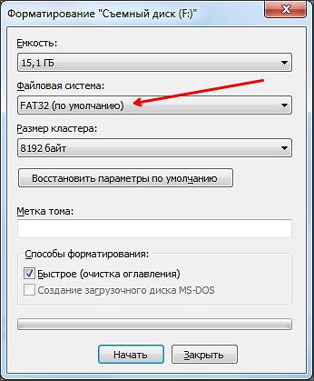 Что выбрать FAT32 или NTFS и как поменять файловую систему при форматирование флешки?