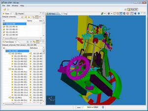 Редактор двух и трехмерных моделей IDA-STEP