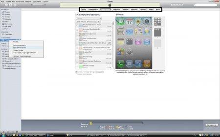 Как перенести данные с iPhone в iTunes