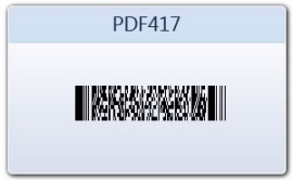 Печать НД с PDF417