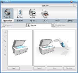 Работа с МФУ от Samsung - SmarThru