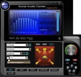Настройка звука Xonar Audio Center