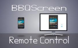Вывод изображения с экрана смартфона на компьютер BBQScreen