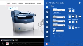 Дистанционное управление принтерами и сканерами KYOCERA Print Center