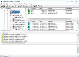 Информация о файле Depends