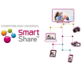 Трансляция видео с ПК на телевизоре LG Smart Share