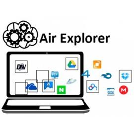 Менеджер облачных хранилищ Air Explorer Pro