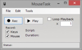 Автоматизация действий мыши Mouse Task