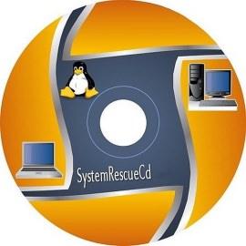 Загрузочный диск SystemRescueCD