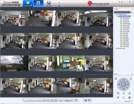 Управление камерами видеонаблюдения RVi SMART PSS