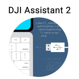 Управление квадракоптером DJI Assistant 2