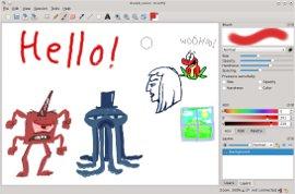 Графический редактор Drawpile