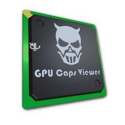 Узнать информацию о видеокарте GPU Caps Viewer