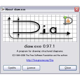 Создание диаграмм Dia