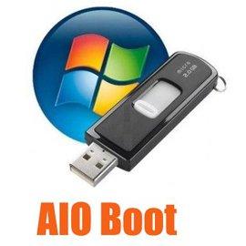 Создание мультизагрузочной флешки AIO Boot