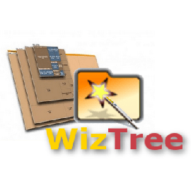 Анализ занимаемого дискового пространства WizTree