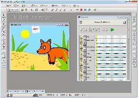 Анимация 3D Flash Animator