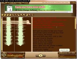 Создание караоке AV Video Karaoke Maker