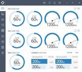 Управление и мониторинг компонентов компьютера CAM
