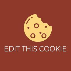 Расширение EditThisCookie
