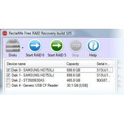 Восстановление данных ReclaiMe Free RAID Recovery