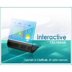 Интерактвный календарь Interactive Calendar