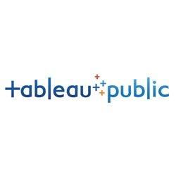 Публикация инфографики в интернет Tableau Public