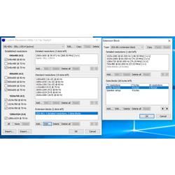 Изменение разрешения экрана Custom Resolution Utility
