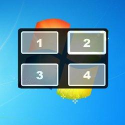Использование нескольких рабочих столов BetterDesktopTool