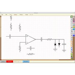 Разработка электрических цепей XCircuit