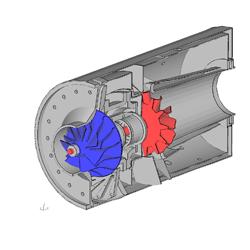 Решение задач касающихся механики твердых деформируемых объектов CalculiX