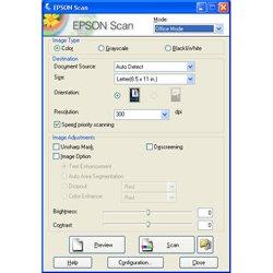 Драйвер для сканирования документов EPSON scan
