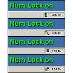 Индикация LOCK клавиш в трее kLED
