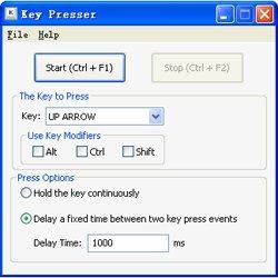 Автоматическое нажатие клавиш Key Presser