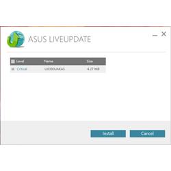 Обновление драйверов и системных утилит ASUS Live Update Utility