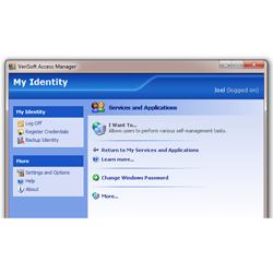 Управление сканером отпечатков пальцев VeriSoft Access Manager